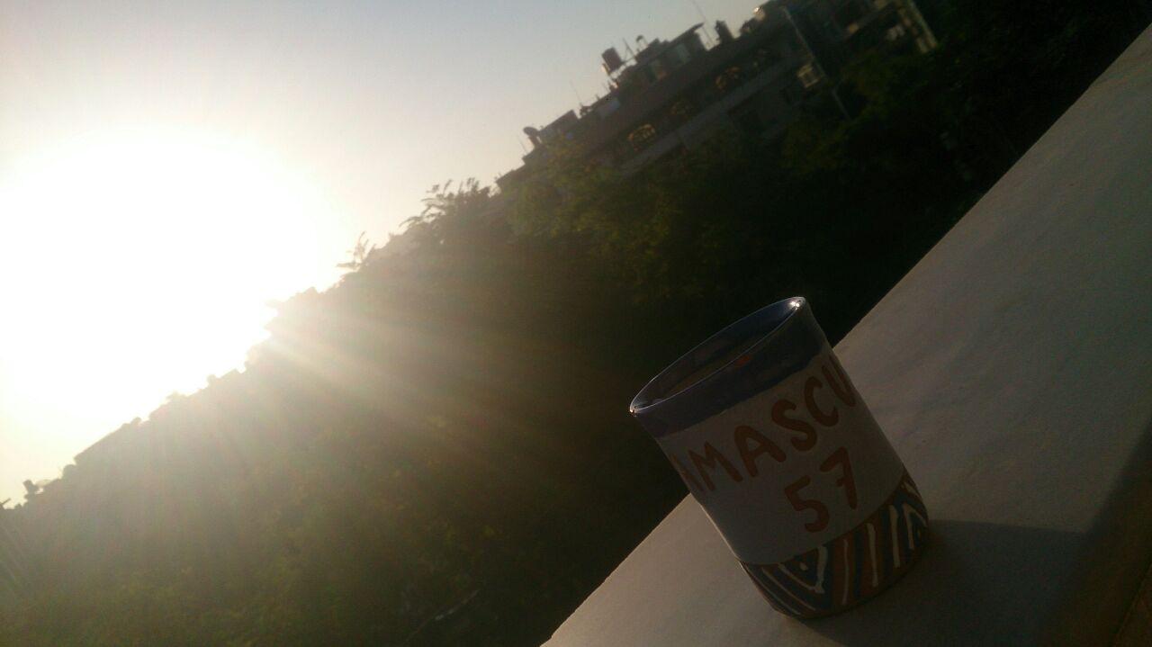 Sunrise from my balcony