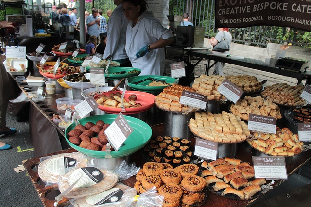 Borough market by Adam Groffman via Creative Commons